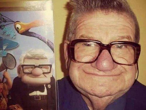 Le vrai Carl de chez Disney / Pixar «La Haut»