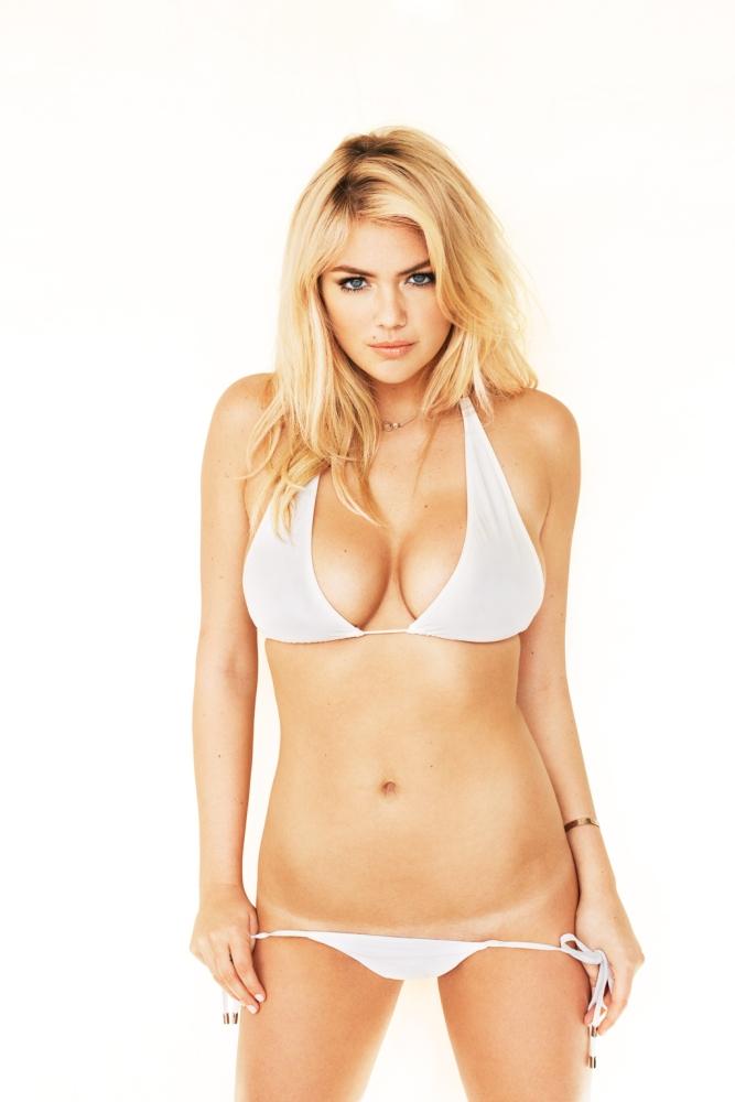 Kate Upton ne touchera pas à ses seins ! - Yahoo