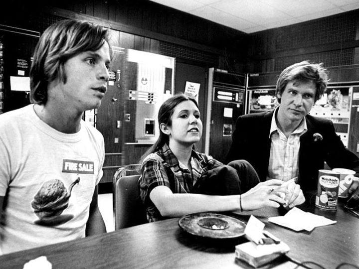 Star Wars les trois premiers héros de la saga
