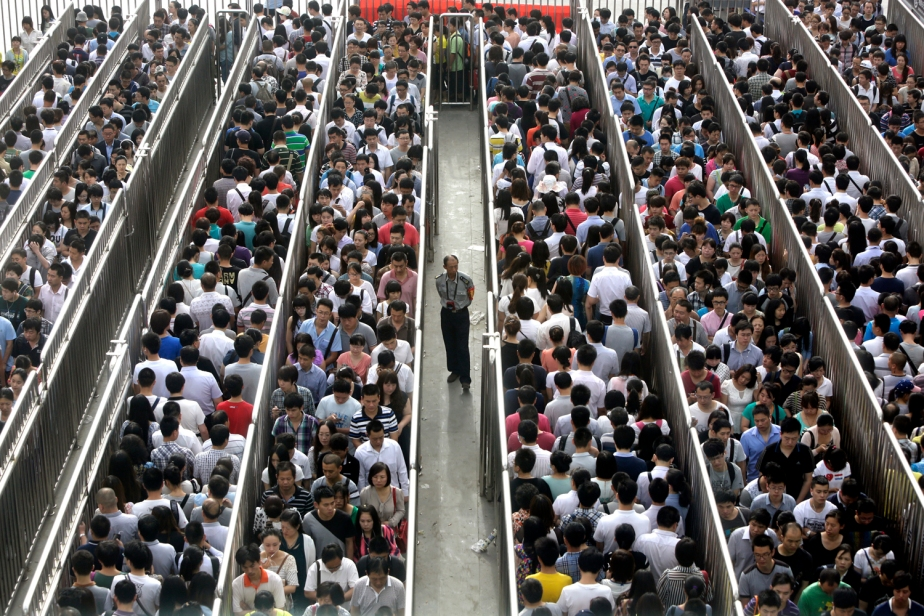 Be Glad You're Not a Beijing Commuter