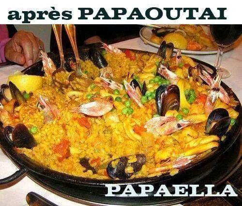 Humour : Après Papoutai...