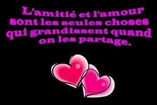 amour ou amitie