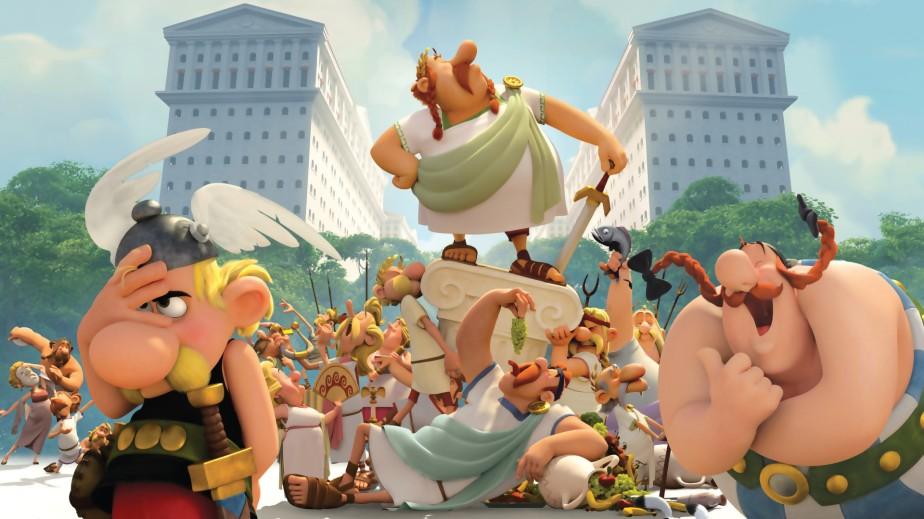 20141230 – Humeurs / Cinéma / Sortie : Cool  – Asterix et le Domaine des Dieux – ParisBeaugrenelle