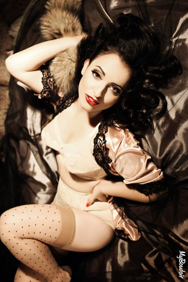 Pin up My Boudoir : Antonella