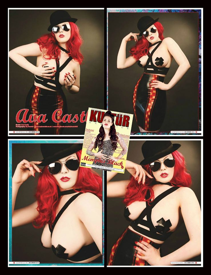 Pin up My Boudoir : Ava Castle