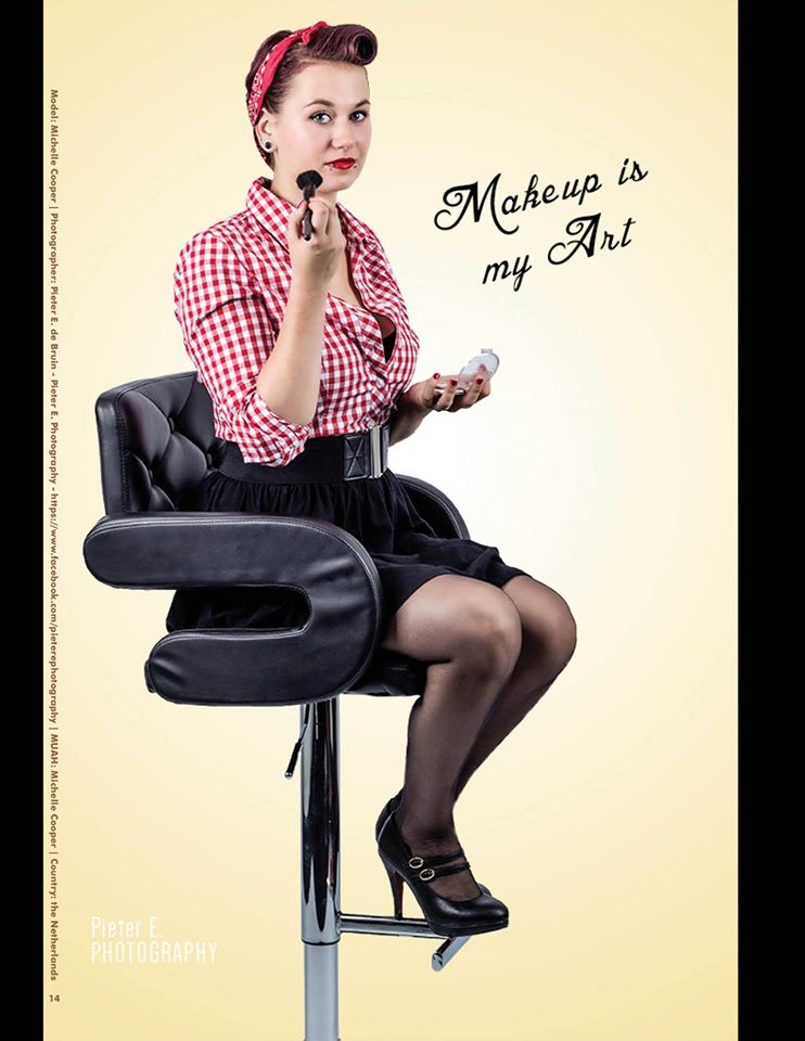 Pin up : Michelle Cooper