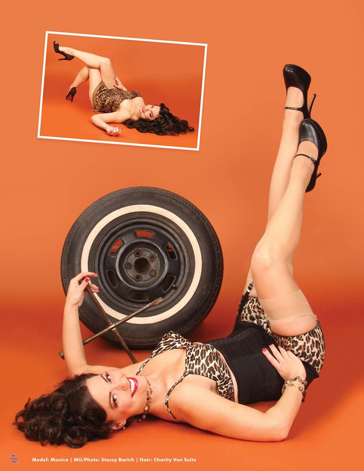 Pin up : Monica