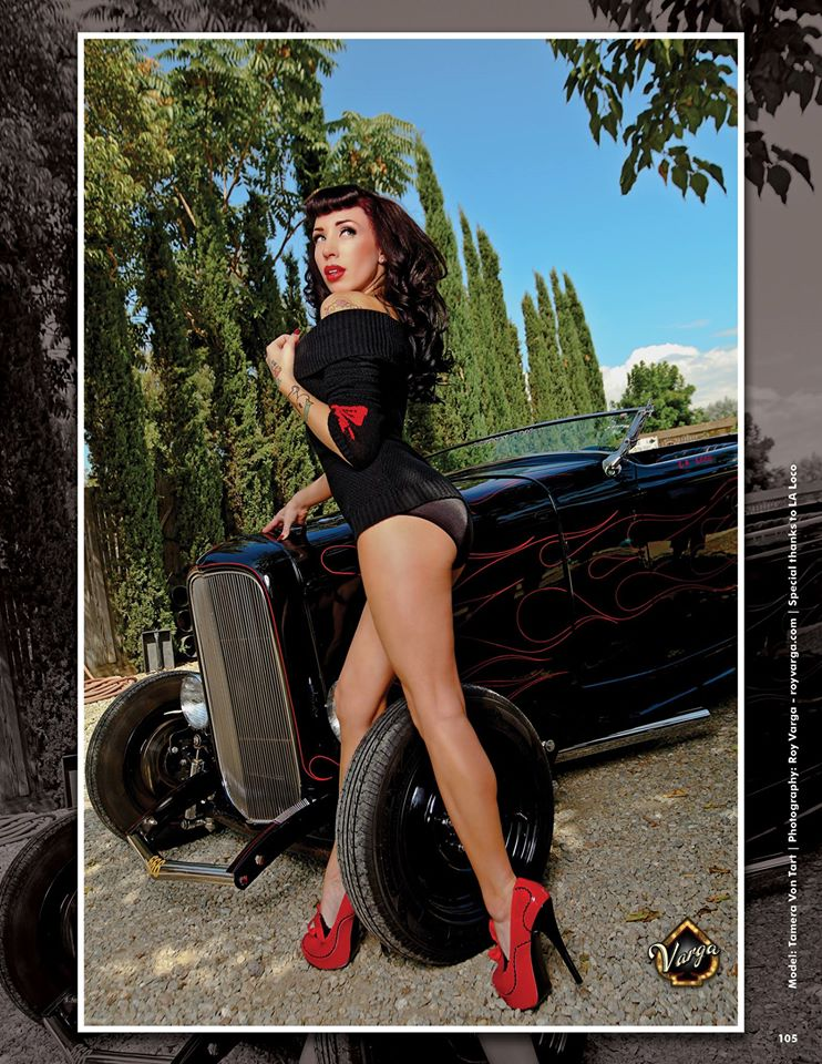 Pin up : Tamera Von Tart