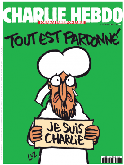 Charlie Hebdo's First Cover After Last Week'sAttack