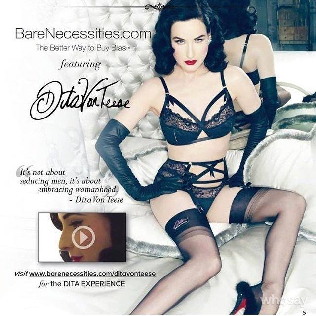 20150225 – Pin up : Dita Von Teese