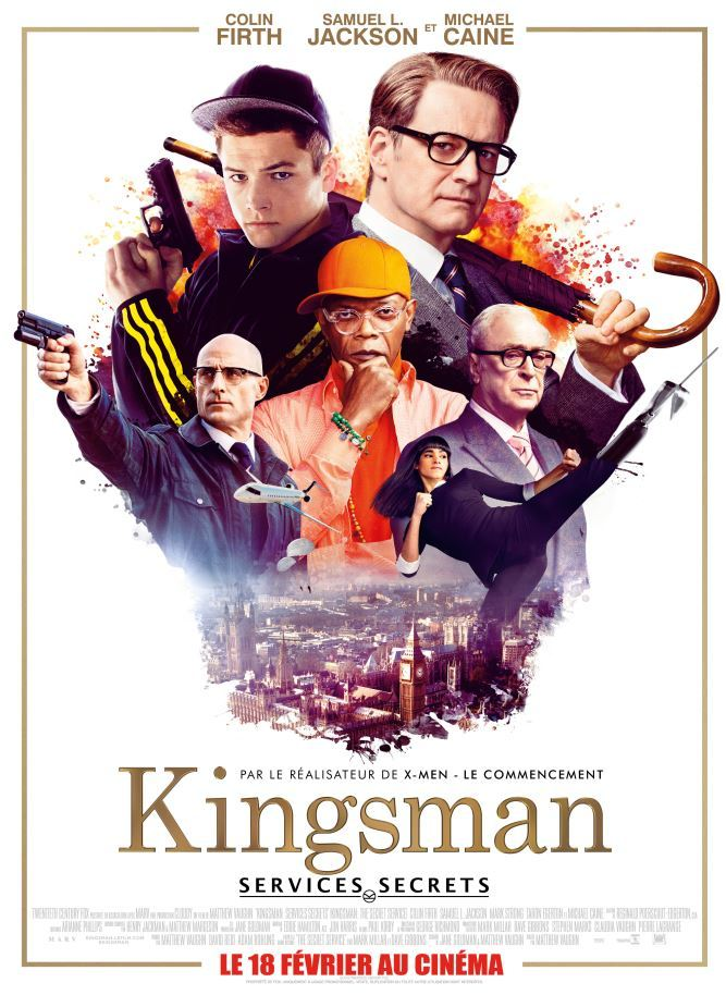 20150228 – Cinéma / Movies  Review : «Kingsman : Services Secrets«