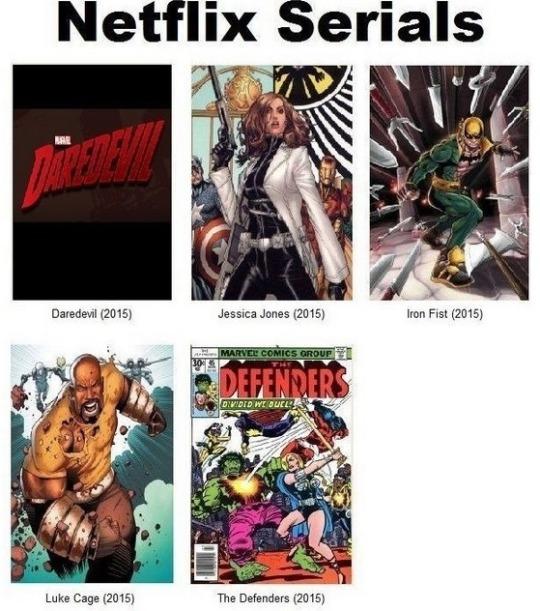Marvel-NetflixSerials