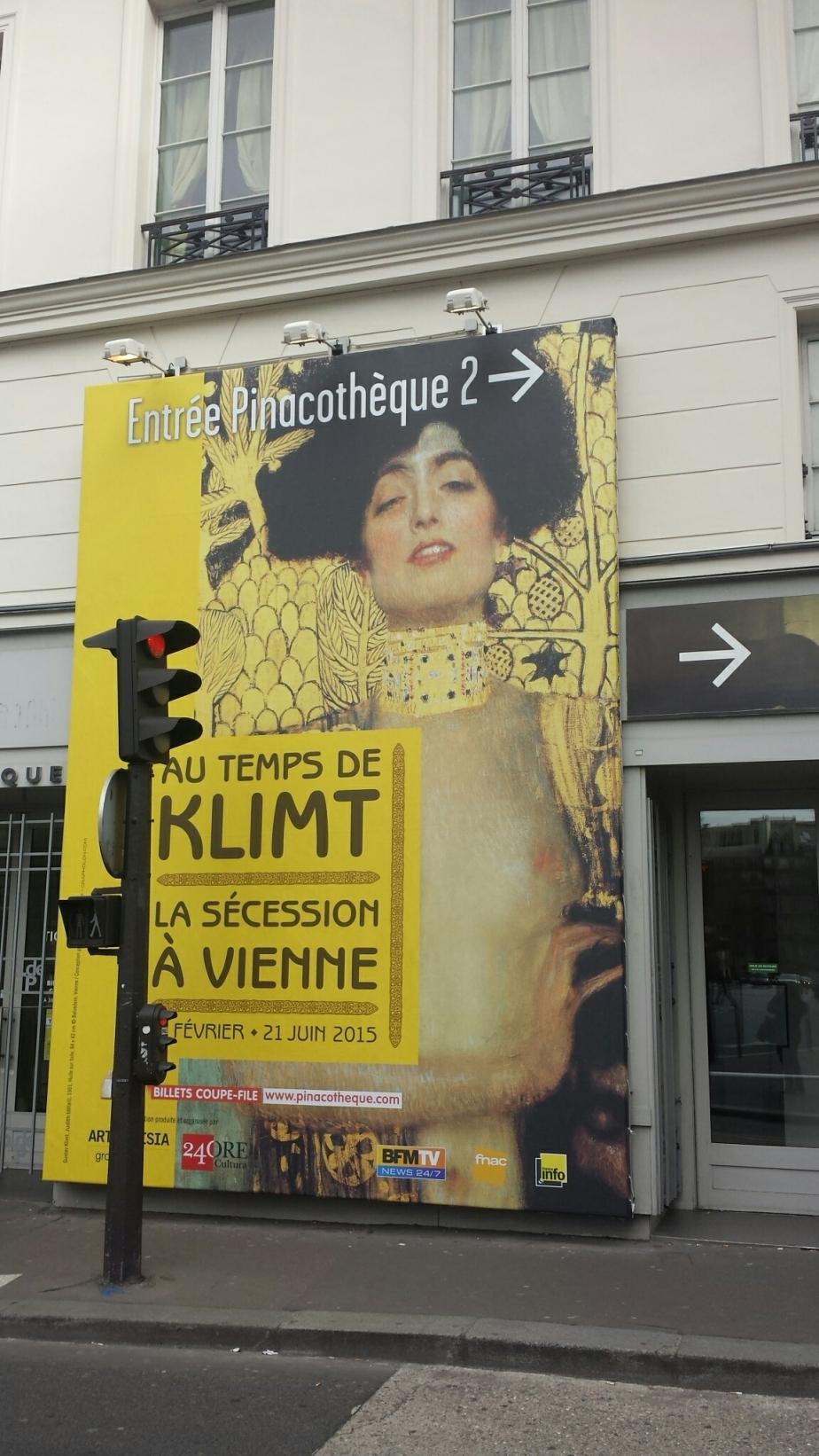 20150228 – Exposition «Au temps de  Klimt , La Sécession à Vienne»