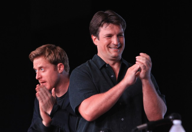 'Firefly' Stars Nathan Fillion & Alan Tudyk Talk Reboots, Reunions And Their New Crowdfunded Comedy Show