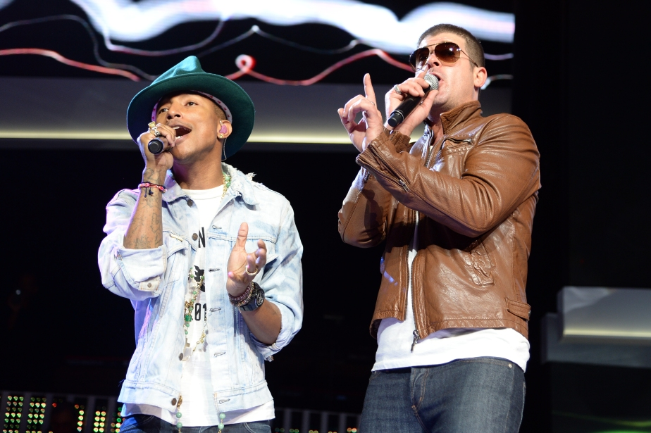 Jury Says Robin Thicke and Pharrell Copied Marvin Gaye in Hit Song 'Blurred Lines'