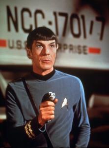 "Leonard Nimoy as Mr. Spock in ""Star Trek.""  (CBS)"
