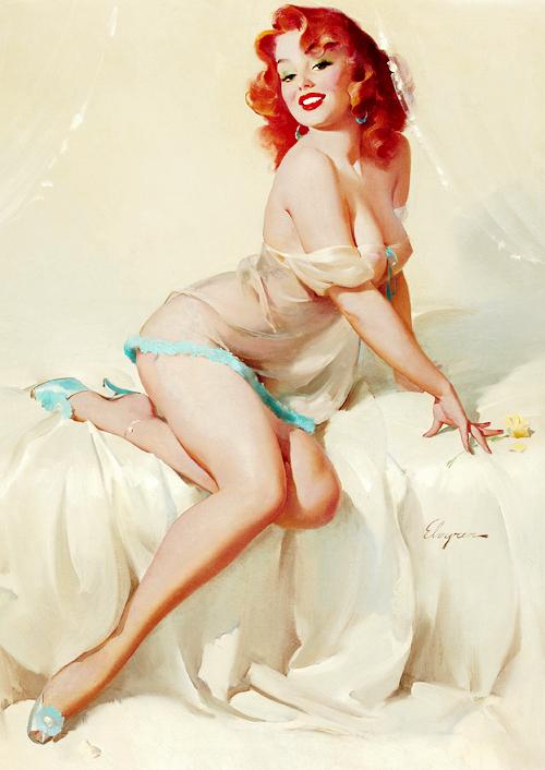 20150307 – Gil Elvgren's Pin up  – 09 : Darlene –1958