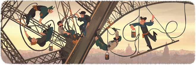 New Google Doodle Honors Opening of EiffelTower