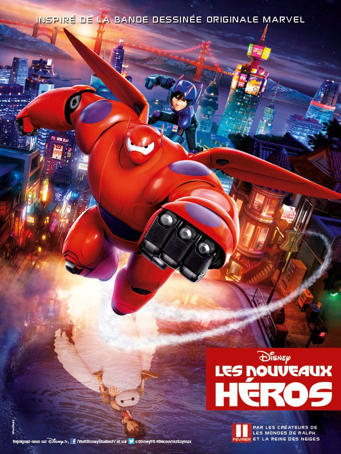 Cinéma / Movie  : BIG HERO 6  / Les NouveauxHéros