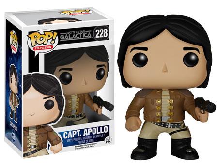 Pop! Television Battlestar Galactica Capt Apollo