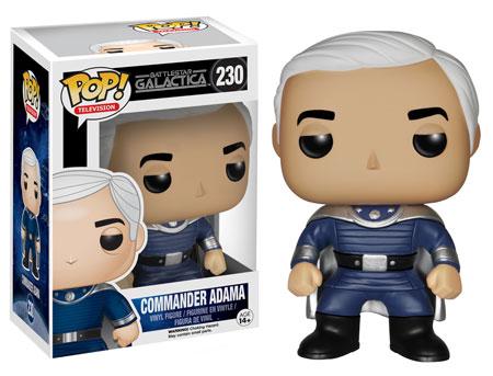 Pop! Television Battlestar Galactica Commander Adama