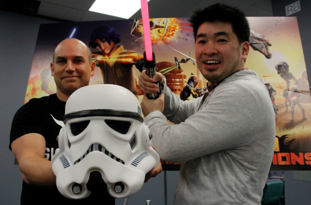 These are the (An)droids you're looking for: Kanata company launches Star Wars game