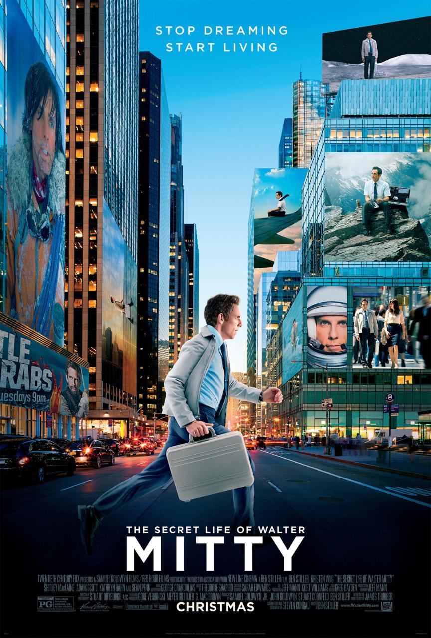 Cinéma / Movies Review :  La vie rêvée de WalterMitty
