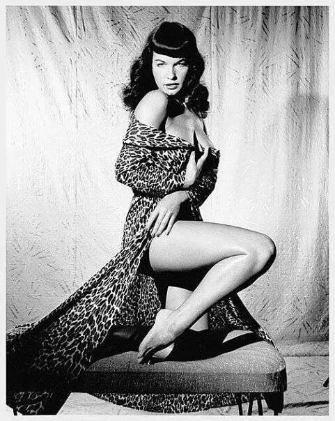 20150306 – Pin up : Bettie Page