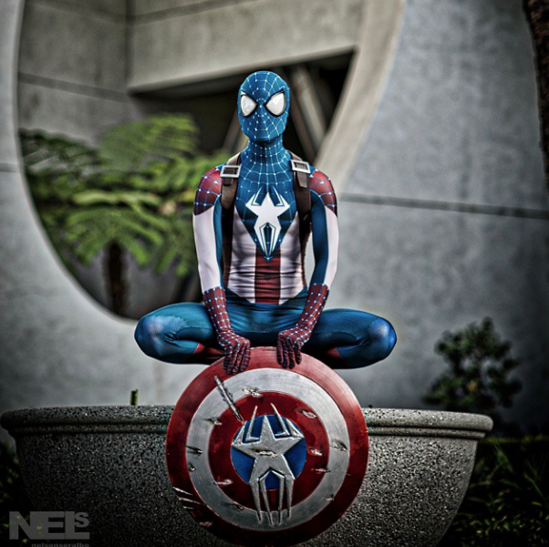 20150406 – Captain Spider-Man Cosplay