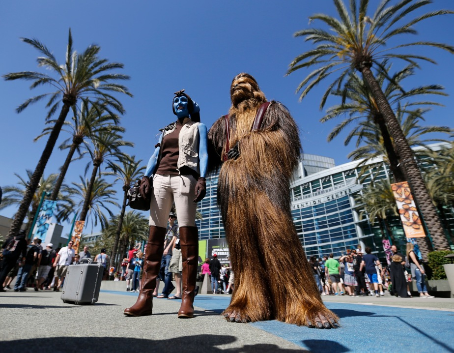 Star Wars Celebration images: The Force is strong with convention-goers inAnaheim