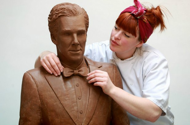 Benedict Chocobatch: Cumberbatch getsmakeover