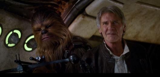 Star Wars teaser 2 chewbacca