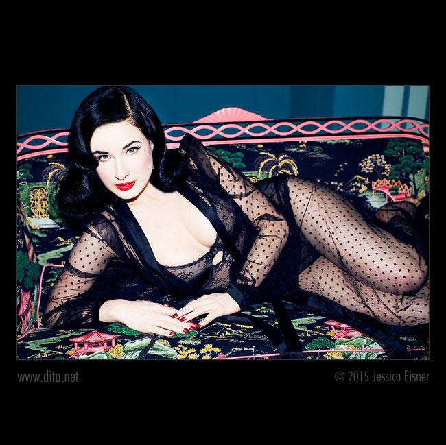 20150508 : Pin up Selection : Dita Von Teese & Lingerie