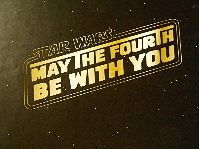 20150504 – Star Wars  : May The Fourth  Be With You:)