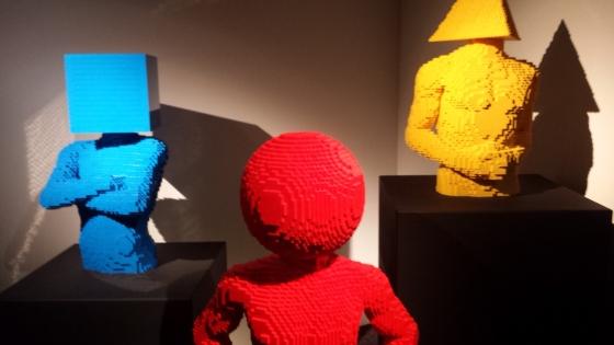 Formes et couleurs en LEGO