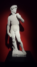 La statue de David par Michelange en LEGO