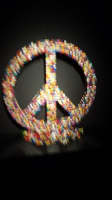 symbole de paix en LEGO