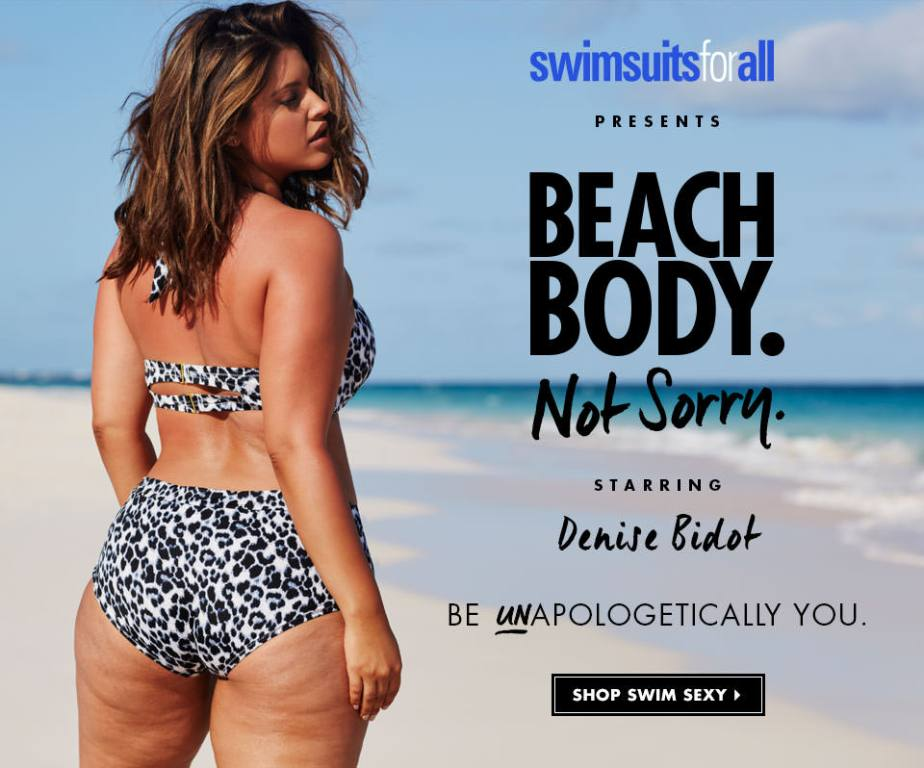 Le magnifique corps de Denise Bidot non photoshopé pour Swimsuit For All