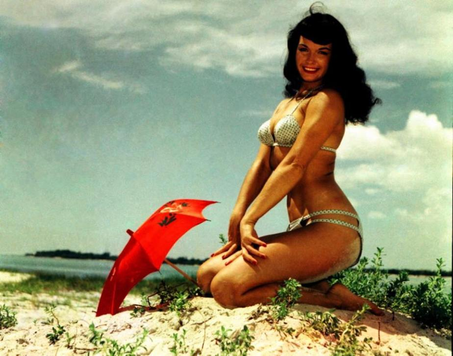 20150712 – Pin up  Selection : Bettie Page