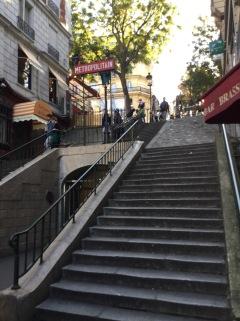 Quartier Caulaincourt , métro Lamarck/Caulaincourt