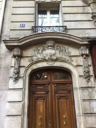 Quartier Caulaincourt /Custine, notre ancien immeuble ;)