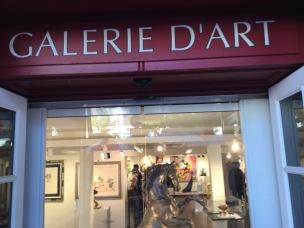 Galerie d'art , Place du Tertre