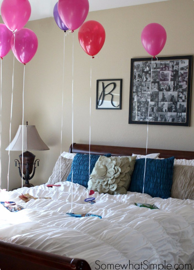 Wake your kid up to some Valentine's Day balloon gifts.
