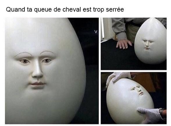 Et devenir un œuf:
