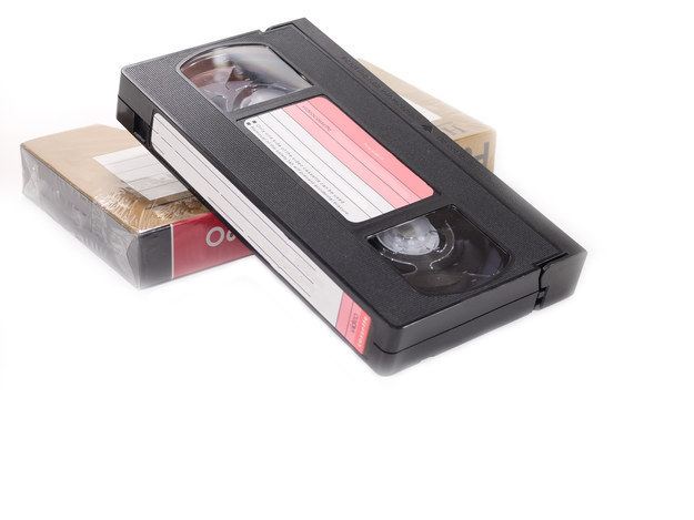 Comment on regardait des films sur des cassettes VHS...