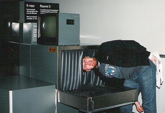 You remember flying before the TSA.
