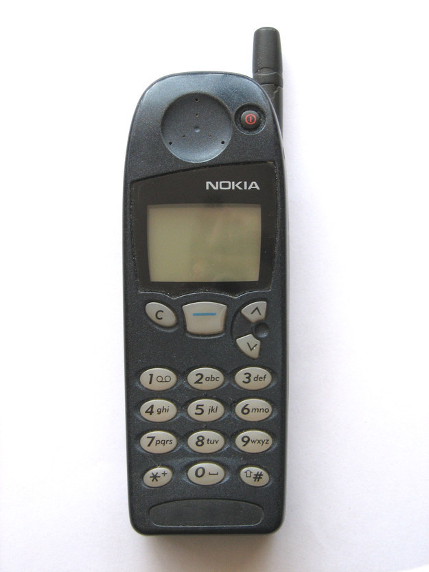 You didn't get your first cell phone until you were 16 or older.