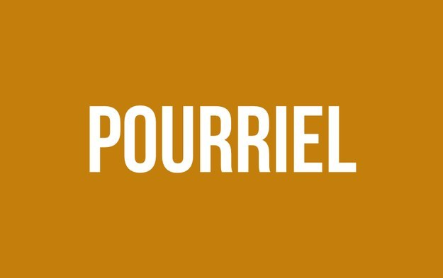 «Pourriel» à la place de «spam».