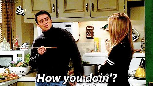 Quand on vous dit «how are you?» mais qu'en fait c'est comme «hello» et qu'on s'en fout de comment vous allez.