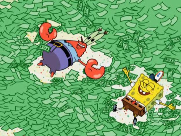 Et le fait de penser être riche quand on a 12 billets de un dollar.